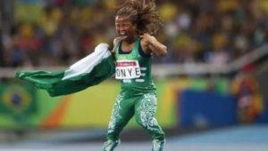 Paralympic gold medalist, Lauretta Onye