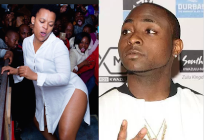 Image result for Davido to 'marry' South African pantless dancer Zodwa Wabantu
