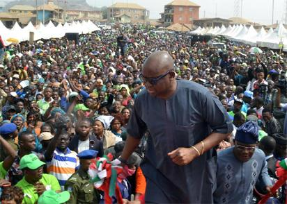 You can leave PDP, Fayose tells Adeyeye, others