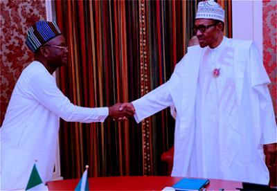 Breaking: Buhari, Ortom meet in Aso Rock