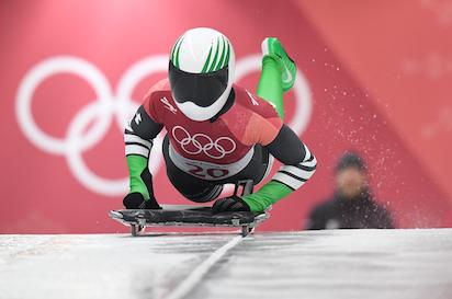winter olympics adeagbo finishes in 20th place in heats 1 2 of skeleton event vanguard news. Black Bedroom Furniture Sets. Home Design Ideas
