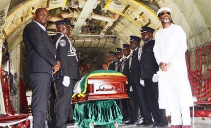 Ex-VP Ekwueme finally buried