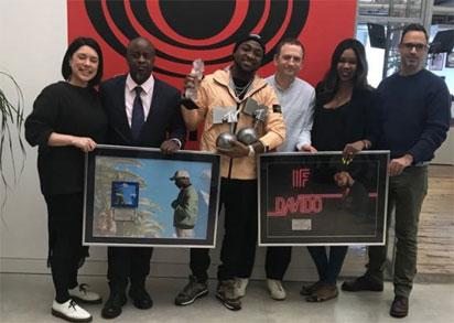 Image result for Davido's 'If' hits Diamond, 'Fall' goes Platinum