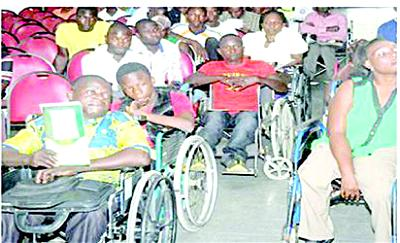 Group calls for creation of commission for persons with disabilities