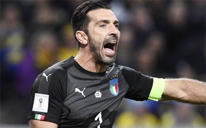 Italy legend Buffon back for Argentina, England swansong