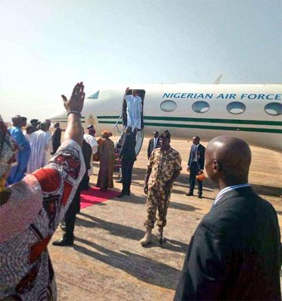 Buhari visits Taraba, Benue, Yobe, Zamfara and Rivers States