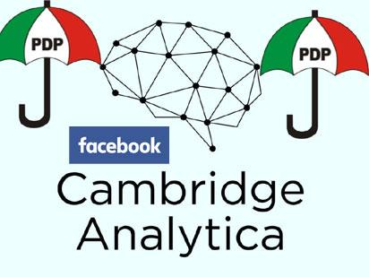 Cambridge Analytica: PDP pillories Presidency over alleged hacking claims