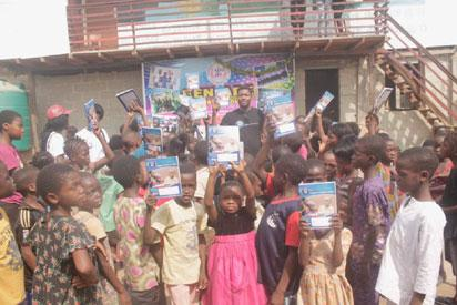 NGO sends out-of-school children to school in Lagos