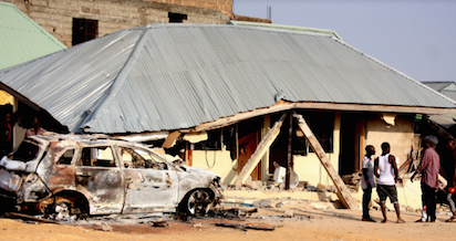 Trouble in Kaduna as youths burn down church, almost kill pastor