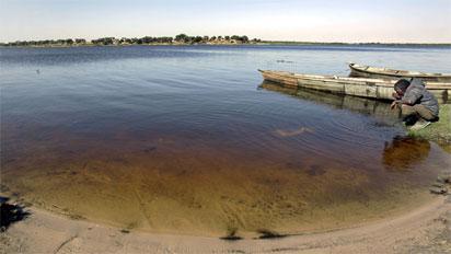 Breaking: Largest fresh water reservoir, 'Lake Chad' shrinks