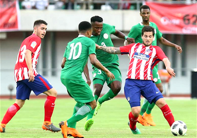 Nigeria vs Atletico Madrid