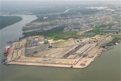 Warri port