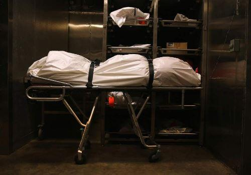 Dead South African woman alive inside a morgue refrigerator
