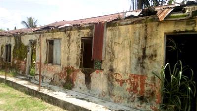 A classroom block at Izeze Primary School..