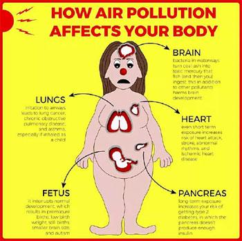 air pollution, Nigeria