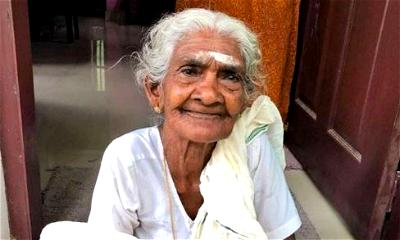 96 years old Indian woman, Karthyayani Amma scores 98 per cent in literacy examination