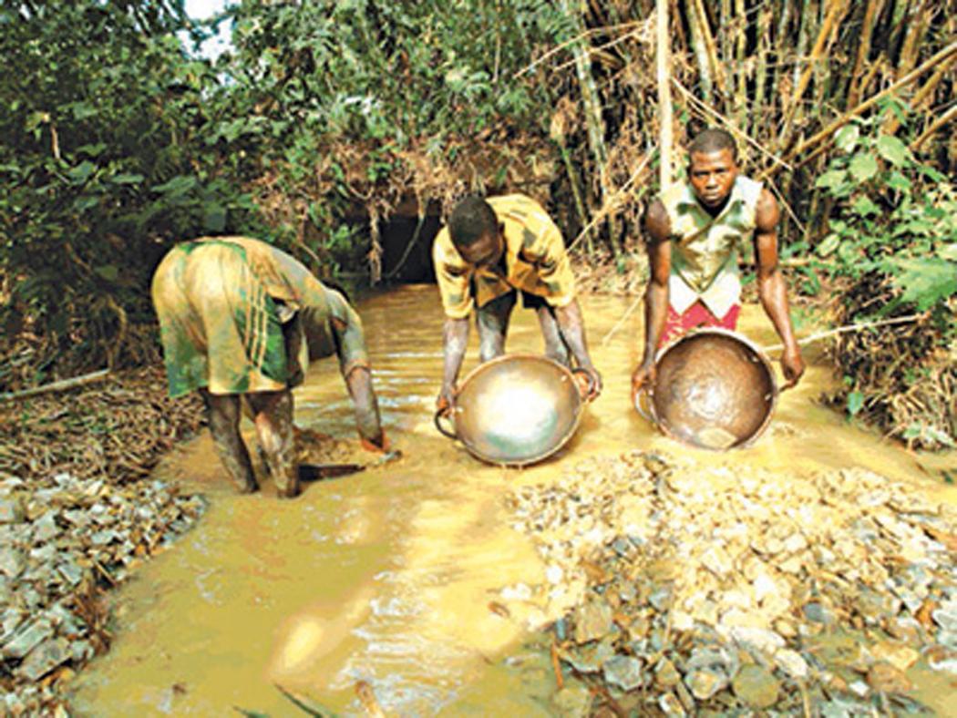 Shehu Badamasi, mining, ILO