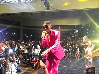 Wizkid set to thrill fans at the made of Black Concert, in Asaba