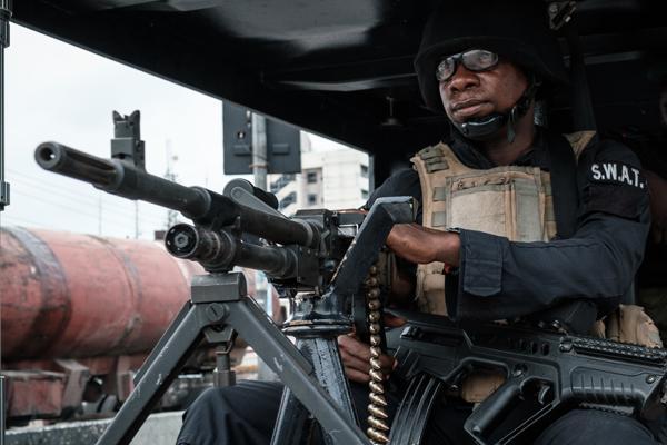 Police, Operation Puff Adder, Abia