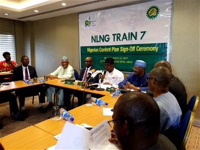 NLNG: Buhari demands timely completion of Train 7 amidst anger in Bonny