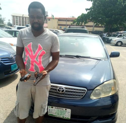 Car snatching: Police arrest suspect, recover stolen car
