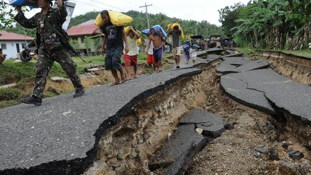 earthquake, phillipine