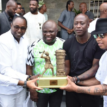 Ambode receives Diouf, Kanu Nwankwo, Finidi George, Zokora, other