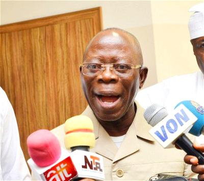 No mercy for Oshiomhole if he creates problems, says Obaseki