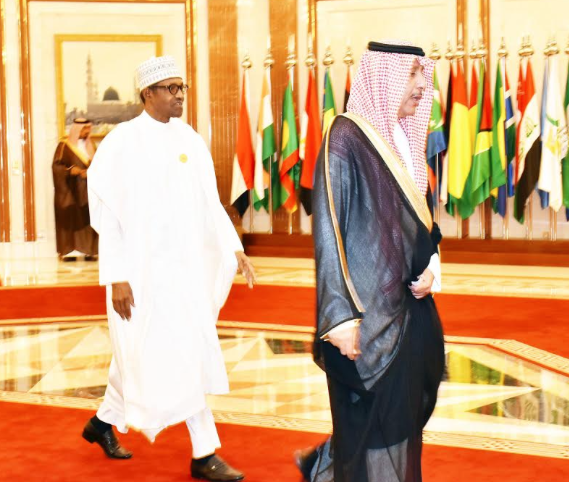 Photos: Buhari at the 14th Islamic Summit in Makkah Saudi