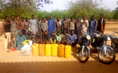 Bandits & kidnappers arrested by troops in Katsina