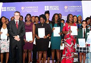 Cambridge awards, British Council