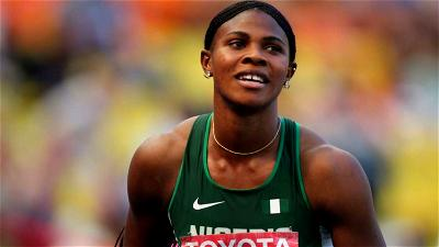 Blessing Okagbare, Marriage