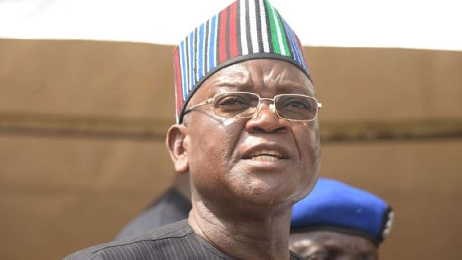 Ortom: I'll not anoint anybody as my successor