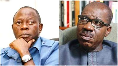 7 APC Govs meet Oshiomhole's NWC over Obaseki