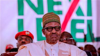 Buhari, Nigeria, security chiefs, IMN, national development agenda
