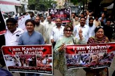 Kashmir, Hong Kong, Hong Kong protests