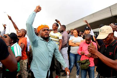 """Revolution protest, Southwest, northern group, Revolution, Federal Government would not have been bothered nor anybody else. But Sowore lucidly said, with much gusto that it is time for """"Revolution in Nigeria now"""