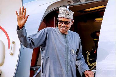 Buhari on medical trip