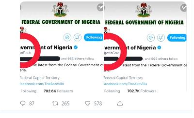 Twitter, handle, @NigeriaGov