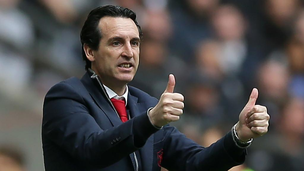 Emery, Xhaka, Arsenal