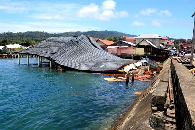 One dead after strong quake strikes near Indonesia's Ambon