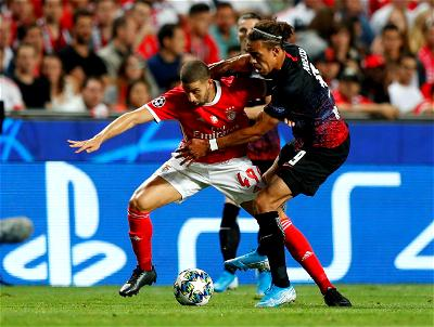 RB Leipzig forward, Timo Werner, scored two second-half goals to secure an impressive 2-1 win at Benfica in their opening Champions League Group D match on Tuesday