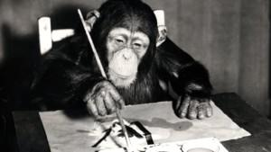 Paintings by famed chimp artist to go on sale for $250,000 (N90m)