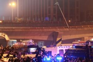 China bridge collapse kills three, injures two