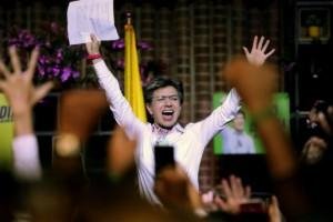 Colombia's capital city, Bogota elects first female mayor