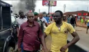 Protest in Edo as motorist kills four along Benin-Lagos road