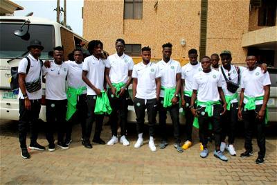 U-23 AFCON, Nigeria