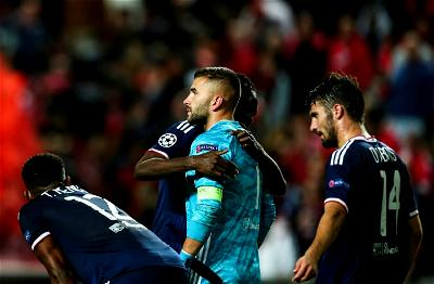 Lyon, Benfica, Champions League