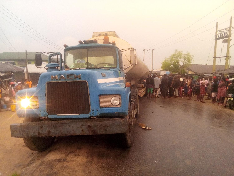 Tanker crushes Okada passenger to death in Delta