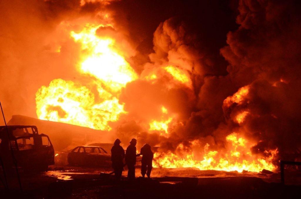 Pipeline inferno guts Onikan Water corporation